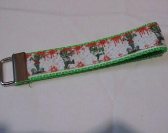 Zombies Wristlet Keychain