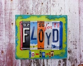 10th Wedding Anniversary Aluminum Tin Gift Tenth Anniversary License Plate Sign Man Husband Gift License Plate Personalized Sign Word Art