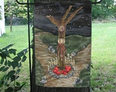 Crossroads of Hecate from The Well Worn Path Garden Flag