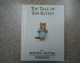 Vintage The Tale of Tom Kitten by Beatrix Potter