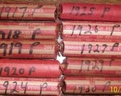 10 Complete rolls of old Lincoln cents, 1917-1930---RESERVED FOR JUAN