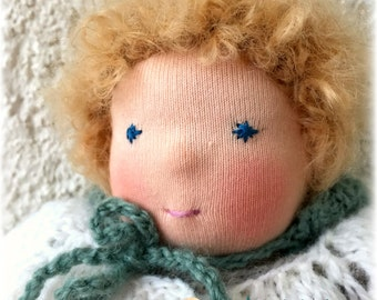 Doll in the Waldorf style 11 inches.