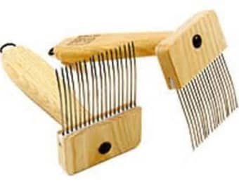 Louet Mini Combs Single, Double, or One Of EACH With FREE Fiber
