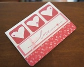 Love - Valentine's Day/Wedding/Shower/Engagement - Greeting Card