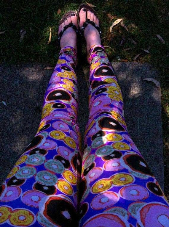Colorful Print Leggings Colorful Printed Leggings