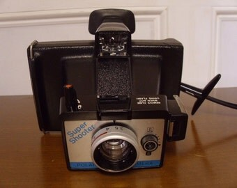 Vintage 1970's Polaroid Super Shooter Land Camera  In Original Box