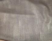 252TOWN.  Nubuc Java Snake Embossed Leather Cowhide Panel
