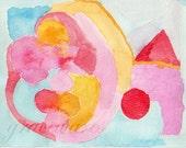 Watercolor Abstract Print - 002