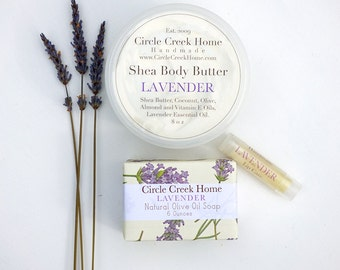Lavender Bath and Body Collection - Handmade by Circle Creek Home