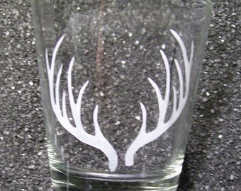 Stag antlers XL shot glass