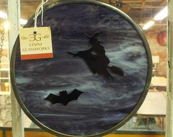 A Big Batty Blue Witch Moon