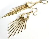 Stick Earrings * Chandelier Earrings * Metalwork Earrings * Linear Earrings * Tribal Earrings * Gypsy * Boho Earrings......*So Rapidly Gone*