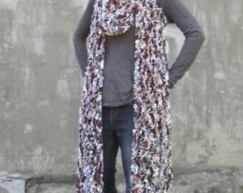 Owl Boa fishnet scarf