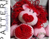 INSTANT DOWNLOAD : KISS Series - Valentine Lion Crochet Pattern