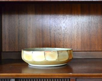 vintage midcentury studio pottery bowl