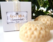 UNSCENTED Goat Milk Soap - handmade cold process - by bonny Bubbles