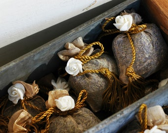 French Lavender Sachet Party Favor Bridal Shower Stocking Stuffer