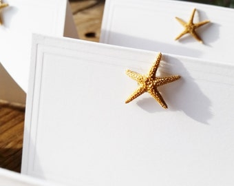 DIY Starfish Place cards, Lot of 25