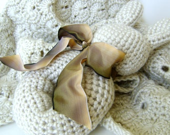 Stuffed Bunny Toy - Crochet PATTERN - Easy Pattern - Great for the Beginner