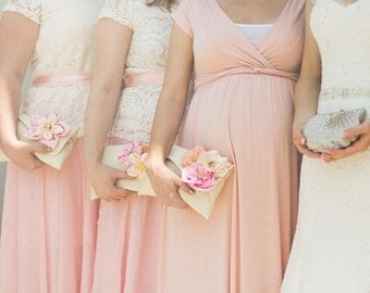 Personalized Maid of Honor gifts | Bridesmaid clutch
