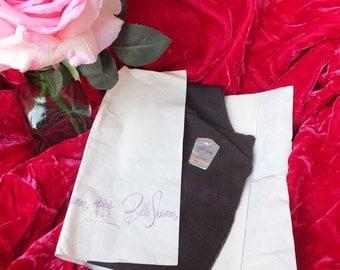 Vintage Belle Sharmeer Stockings /  Patterned Stockings Size 8.5