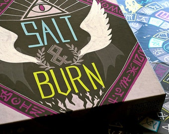 Salt & Burn Board Game