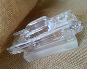 Classic Cars Vintage Goebel Crystal- 57 Chevy- Paperweight- Bookcase Decor