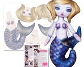 Sandy Azure - Printed Clo...