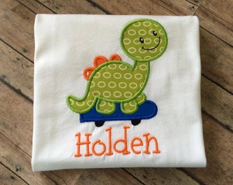 Personalized Dino Shirt