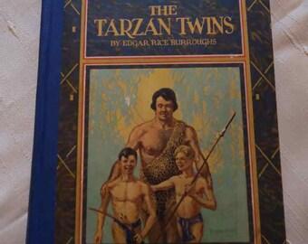 The Tarzan Twins by Edgar Rich Burroughs, second edition 1927.