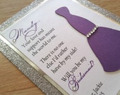 Passion- Will You Be My Bridesmaid... Cards