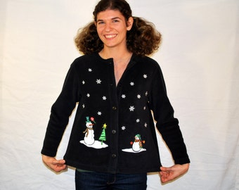 Ugly Christmas Sweater womens small