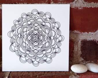 Mandala 62 - Pen and Ink Drawing