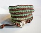 Gemstone Bracelet Gemstone Jewelry Green Gemstone Jewelry Green Bracelet Green Jewelry