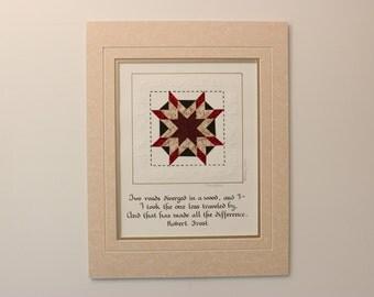 "11"" x 14"" Blazing Star PaperQuilt"