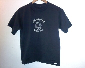 2 Sided / Barber Shop / Pinup Girl / Skull / Graphic Tee / TShirt Top / Street Style