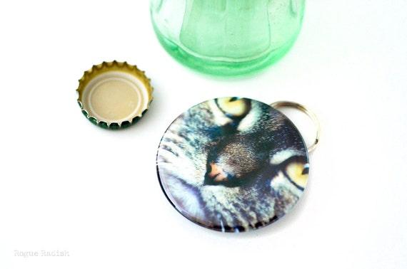cat face bottle opener keychain cat face keychain bottle. Black Bedroom Furniture Sets. Home Design Ideas