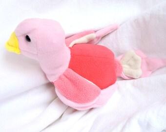 Love Bird - dove in pink