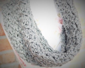 PDF Pattern for Super Soft and Thick Gray Cowl