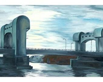 Green Island Bridge Print
