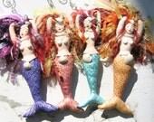 Mermaid Mixed Media Spirit/Art Doll - Made to Order