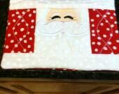 Santa Mug Rugs/Mats, Set of 4