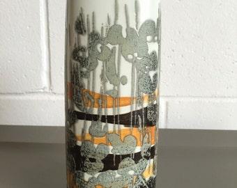 FREE SHIPPING Mid Century Danish Modern Royal Copenhagen Ivan Weiss Fajance Medium Vase