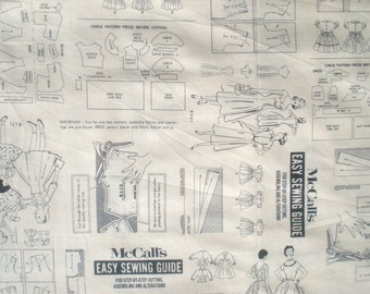 McCalls Easy Sewing Guide fabric McCalls Collection Windham fabrics FQ or more