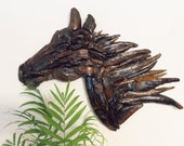 Driftwood Horse Head Silhouette Horse Decor Equestian Decor