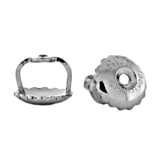 Spare Replacement Backs for Candi & Kara Screw Back Threaded Post Earrings, 1000-SD