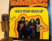"ON SALE Argent (Rod Argent) Vintage Vinyl LP Record Album 1970s Classic Rock English Prog Pomp""Hold Your Head Up""(Scarce Netherlands Import"