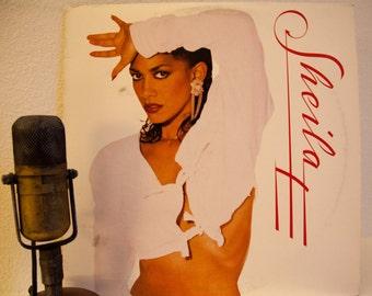 "ON SALE Sheila E Vintage Vinyl Lp Record Album 1980s Latin Synth Pop Dance ""Sheila E""(1987 Wb Records w/""Hold Me"",""Koo Koo"" & ""Love On A Blu"