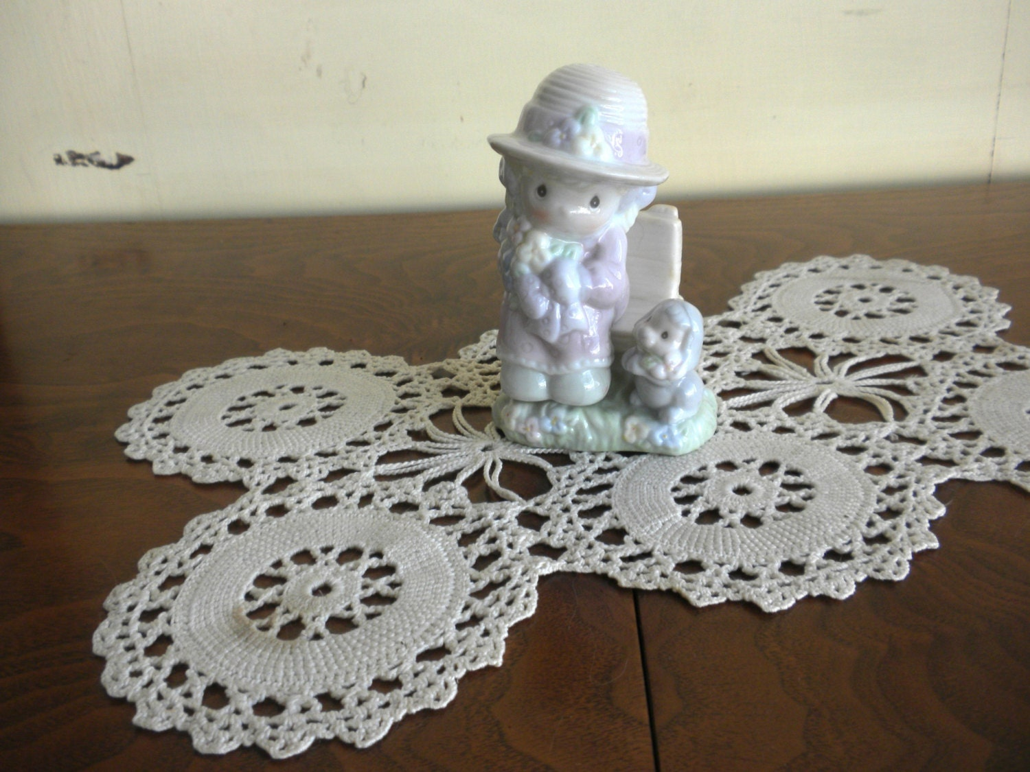 Pair Of Vintage Little Girl Salt And Pepper Shakers