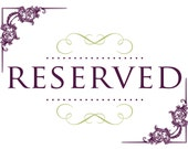 Reserved for Helena